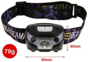 TECHVIDA LED Head Torch Headlight - Rechargeable Head Torch Australia